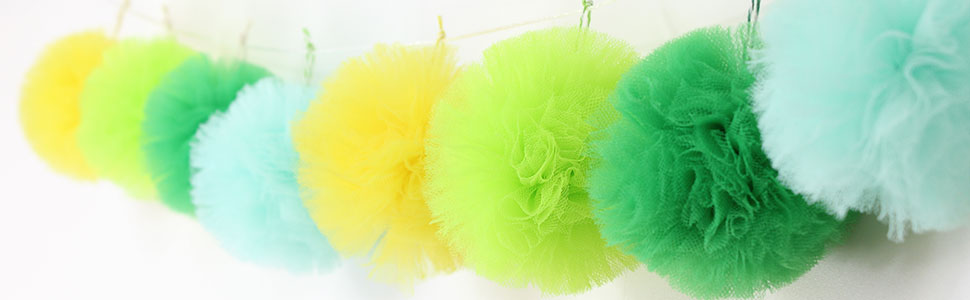 lime tulle diy