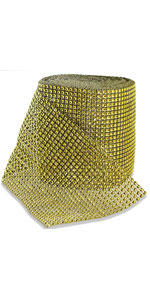 gold rhinestone