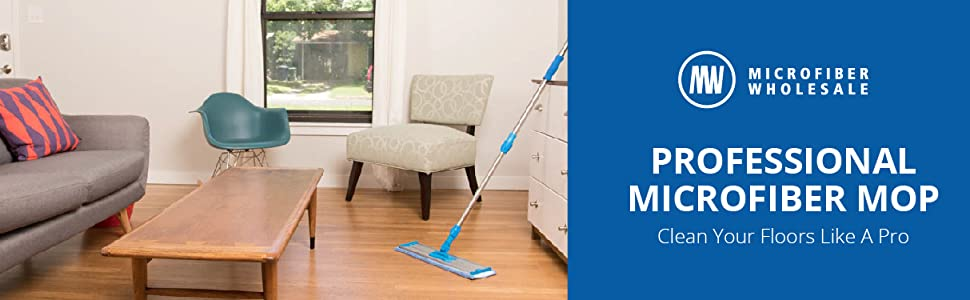 18 Inch Professional Microfiber Mop System