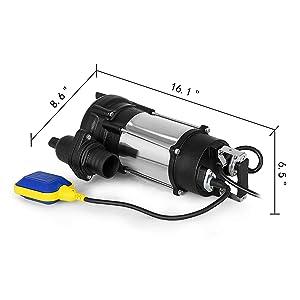 Submersible Heavy Duty Cast steel Sewage Pump