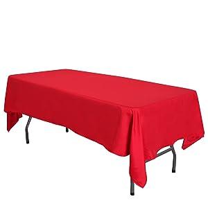 white tablecloth,rectangular tablecloth