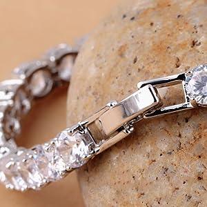 mens crystal bracelet