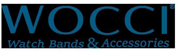 Wocci Watch Bands Brand Shop Logo (Blue)