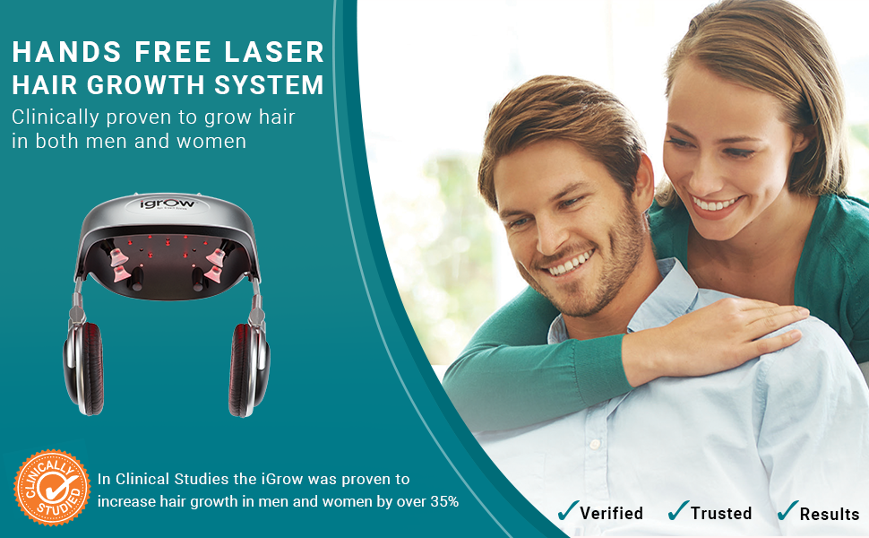 Restoration & Regrowth Treatment System for Hair Loss