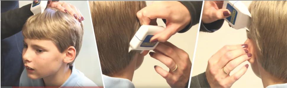 RobiComb lice comb electric kills lice eggs superlice
