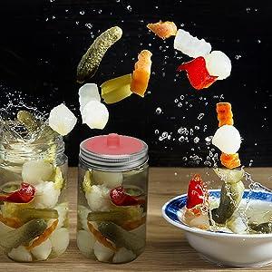 airlock fermenting lid