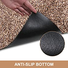 Amazon Com Indoor Super Absorbs Mud Doormat 28 Quot X 18 Quot Latex