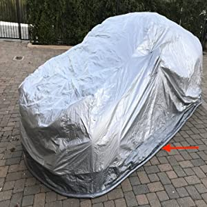 CoverSeal 210 Rodent Preventing Weatherproof Car Cover Sports Car Size