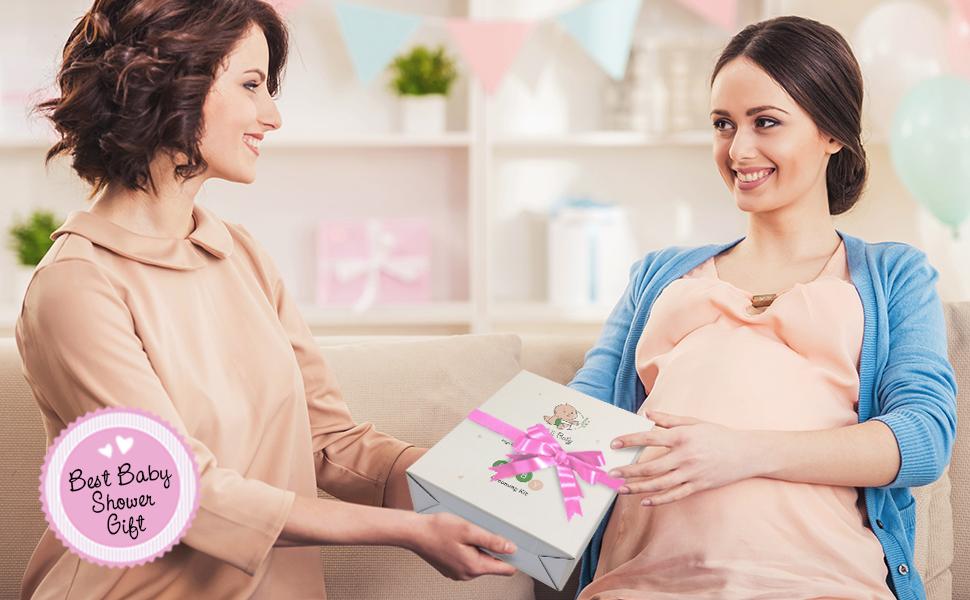 Baby Grooming kit pink