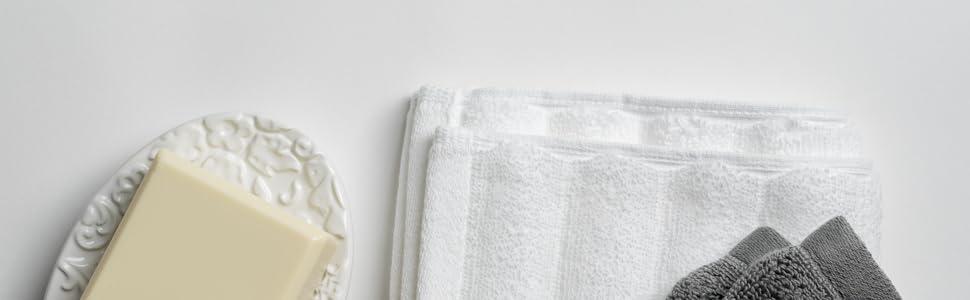 Nutrl Home Antimicrobial Bath Towels Amazon Clean Fresh Antibacterial Cotton Set Hand Wash cloth