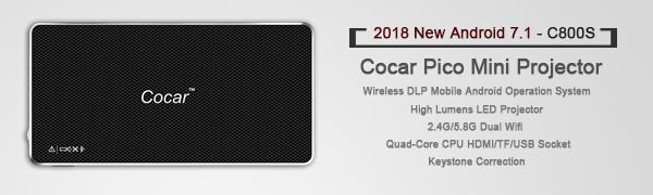Mini Projector - Cocar C800S