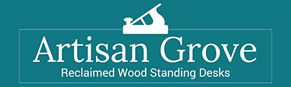Artisan Grove Reclaimed Wood Standing Desks by Stand Up Desk Store
