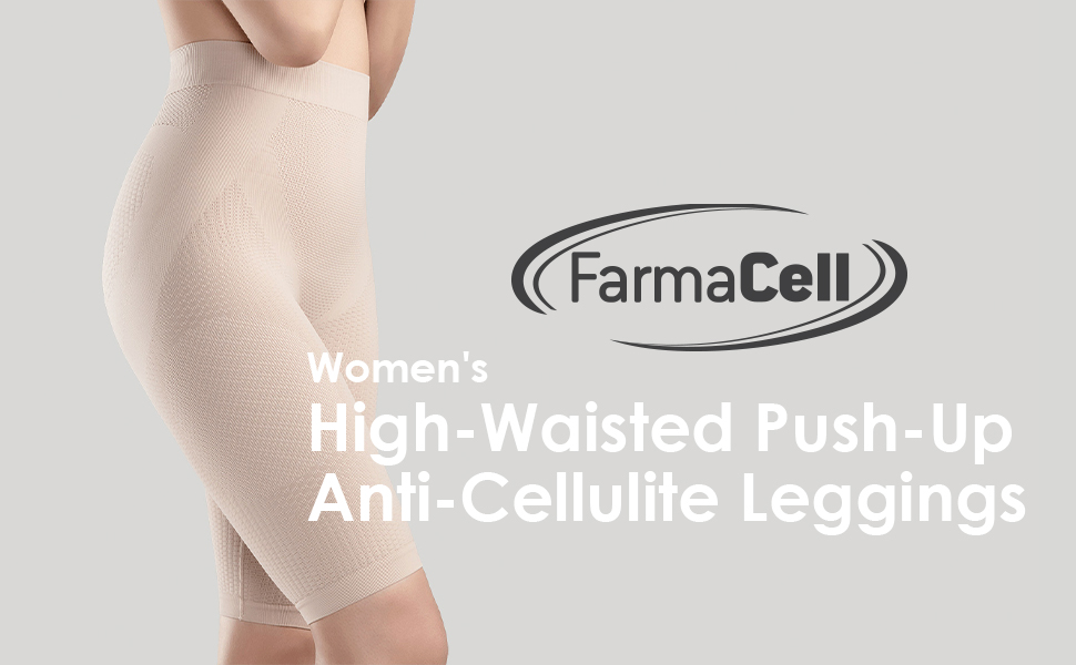 Relaxan, orthopedic belt, anti cellulite, high waisted, push up, Invisible belt, Farmacell, leggins