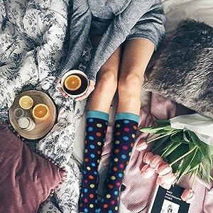 f48eccb4bfe Amazon.com  YOLIX Compression Socks for Women   Men 20-30 mmHg - 3 6 ...