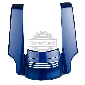 Superior Blue Stretched Rear Fender Extension Fit 14-19 Harley FLHR FLHXS FLTRX