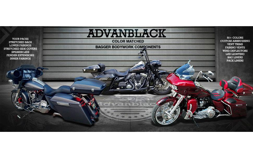 Amazon.com: Advanblack - Paneles laterales extendidos de ABS ...