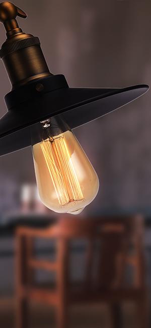Super Amazon.com: GMY Lighting Vintage Edison Bulb Dimmable ST64 60 Watt  MG13