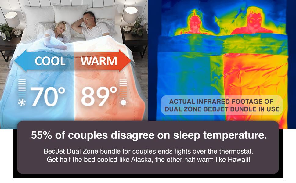 bedjet cooling mattress fan no topper pad beds bedroom blanket nightsweats warming safer blanket