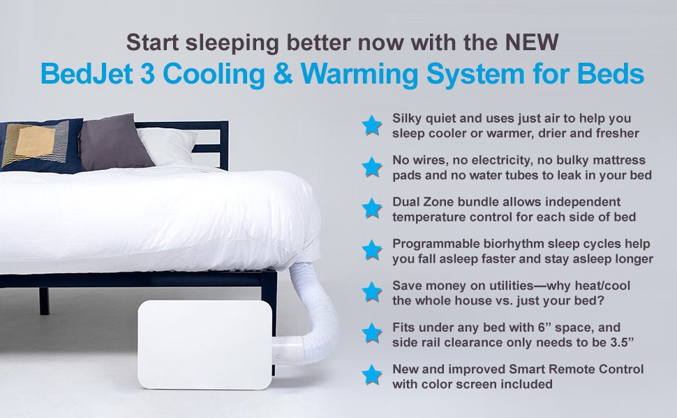 Amazon Com Bedjet 3 Climate Comfort For Beds Cooling Fan