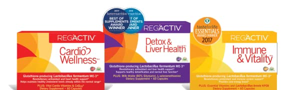 Reg'Activ glutathione Lactobacillus fermentum ME-3 detox