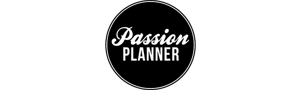 Passion Planner logo Elite Black