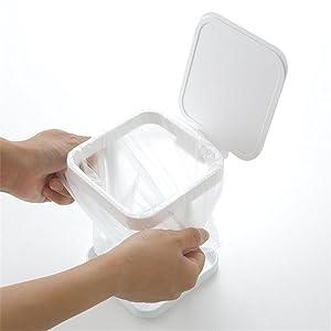 insert plastic bags