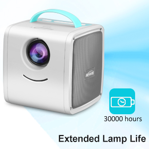 Mini Projector - Meyoung Portable LED LCD Projector, Full HD 1080P Supported, Compatible with PC Mac TV DVD iPhone iPad USB SD AV HDMI, Home Theater & ...