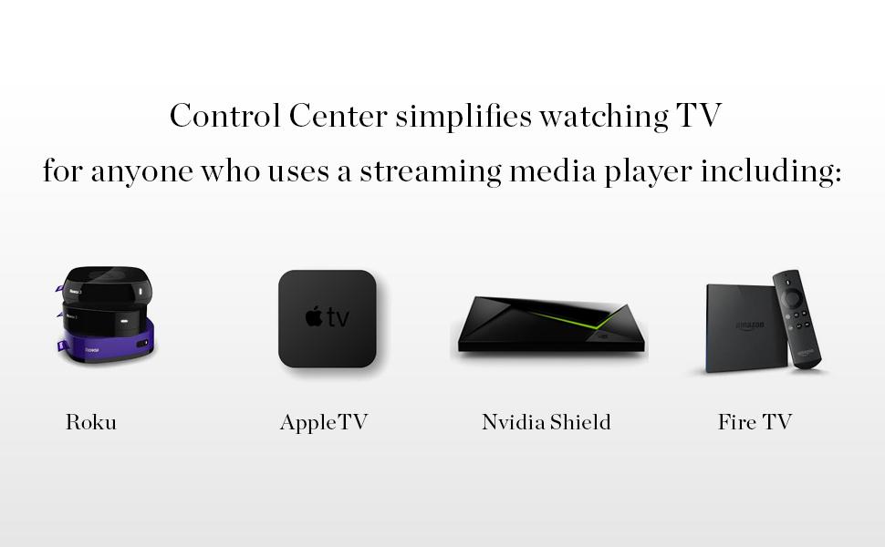 Roku, AppleTV, NvidiaShield, FireTv