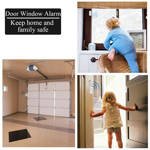 Amazon.com: Alarma de entrada de puerta inalámbrica para ...