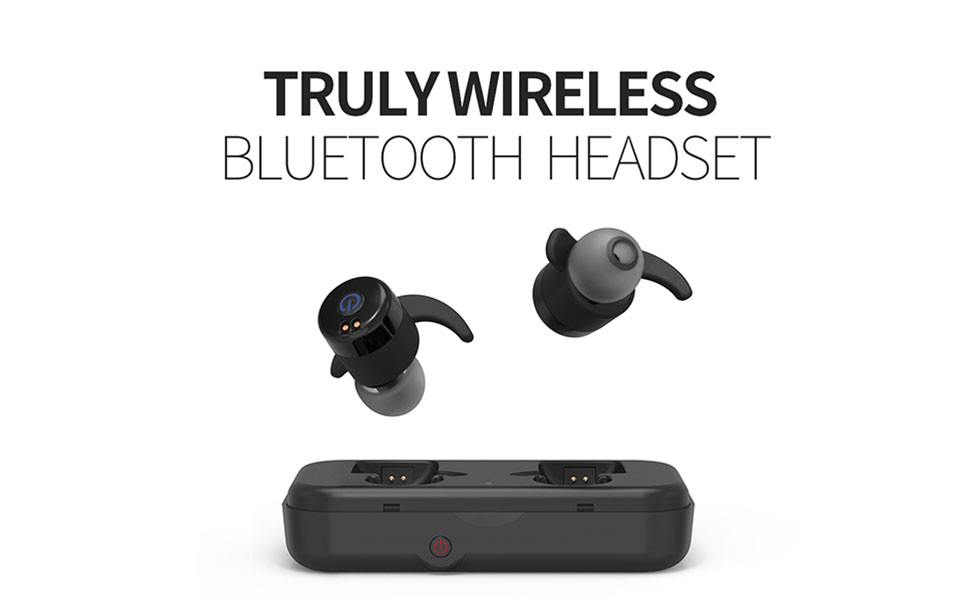Bluetooth earbuds wireless in ear - mini earbuds wireless bluetooth rowkin