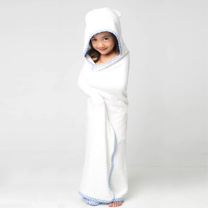 Sayhamora Bamboo Baby Hooded Towel