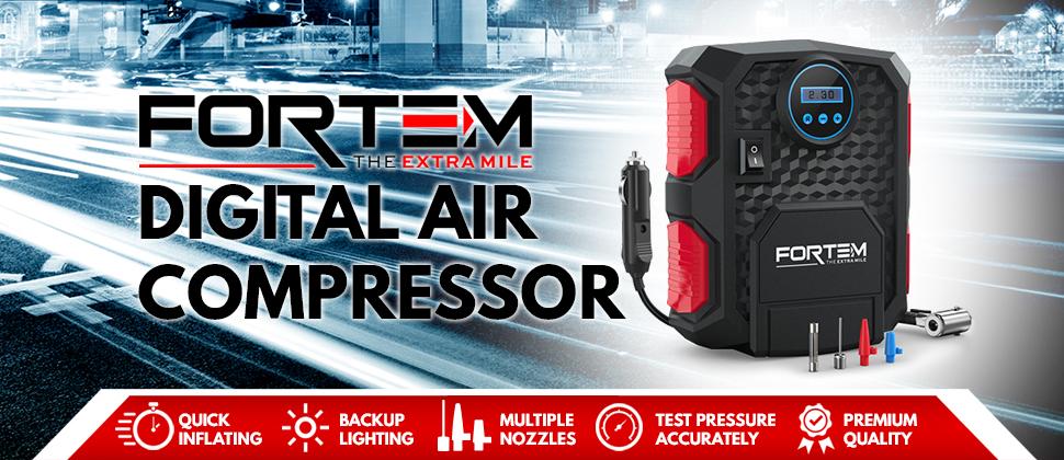 Amazon.com: Digital Tire Inflator for Car W/Pressure Gauge