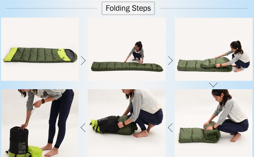 Amazon.com: NACATIN Saco de dormir para adultos, ultraligero ...