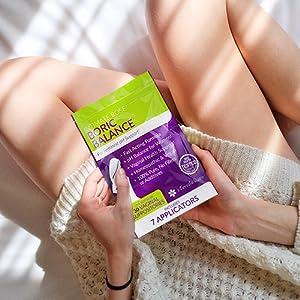 vaginal odor wipes spray control
