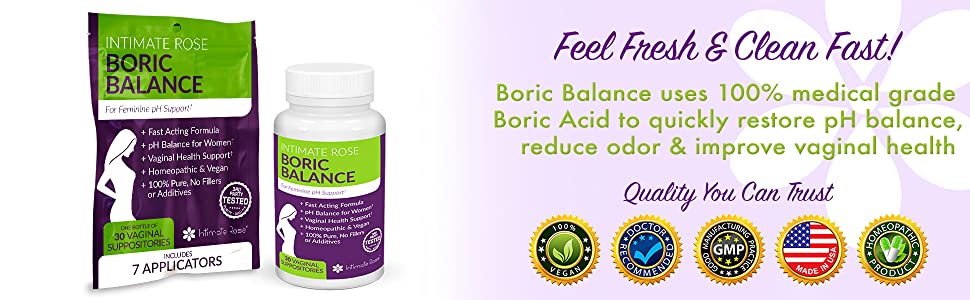 boric acid bv treatment for bacterial vaginosis and vaginal odor