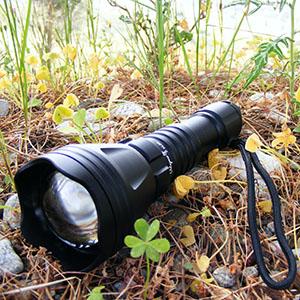 odepro KL41/caza linterna luz roja luz verde luz blanca IR850/Cable de luz l/ámparas LED y mando a distancia