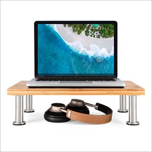 laptop riser natural