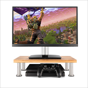 gaming console stand natural