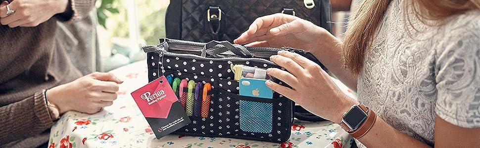 de79c9b9b2ab Periea Handbag Organizer - Chelsy - 25 Colors Available - Small ...