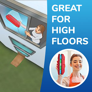 The Glider D 3 Magnetic Window Cleaner For Double Glazed