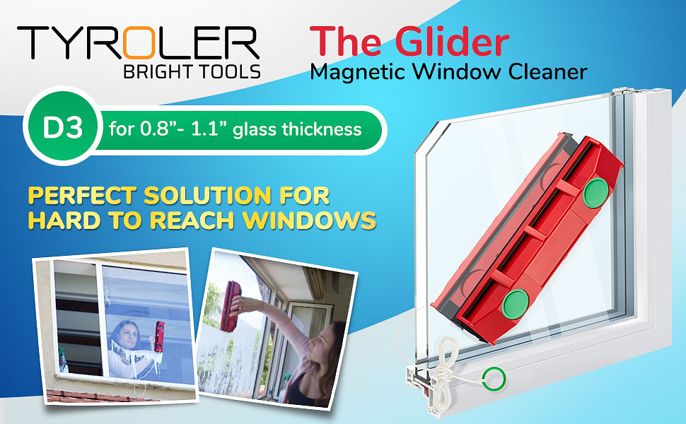 the glider d 3 magnetic window cleaner for double glazed windows - Window Cleaner Job Description