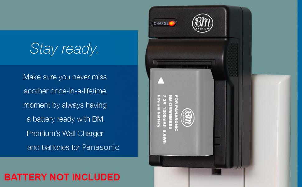 Rápido-cargador para Panasonic Lumix dmc-fz48 dmc-fz100 con micro USB Plug