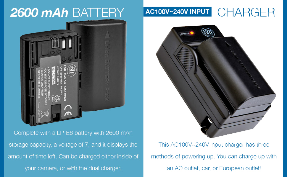 lpe6n battery and battery charger lce6