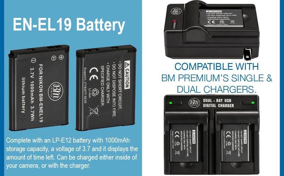 EN-EL19 Batteries
