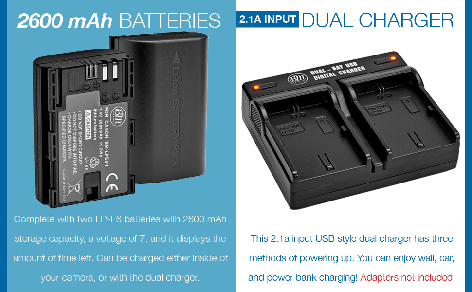 lpe6n battery and charger