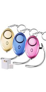 Amazon.com: TOODOO - Llavero con alarma de seguridad ...