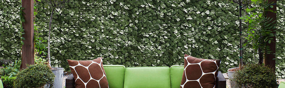 artificial ivy fence screen