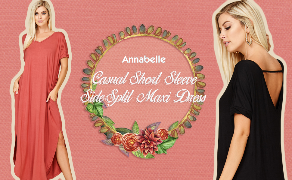 a61b295bea ... Split Maxi Dresses with Pockets D5210. Annabelle is a leading fashion  manufacturer specializing in young contemporary women s apparel.