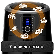 7 Cooking Presets