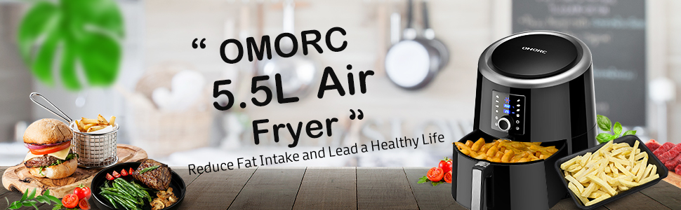 OMORC 5.5L Air Fryer